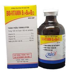 Thuốc Tiêm Chống Còi – Tăng Lực – Bổ Cơ – Cho Chó Mèo – Bio B1B6B12 50ml