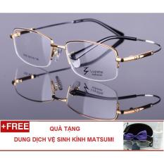 Tư vấn mua Gọng kính cận dẻo cao cấp hợp kim Rhodi siêu nhẹ Pellini RP18S (Vàng)