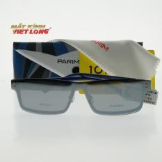 Gọng kính Parim (Clip) PR7927-C1 55-14 ( Gọng nhựa xanh pha đen, clip tráng gương bạc)