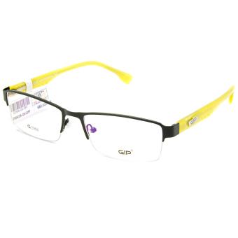 Gọng kính unisex 3D-DLP G2906/5A-DV-OFF (Đen vàng)