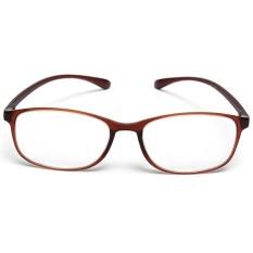 High-grade Resin Frame Reading Glasses Super-toughness TR90 Unisex Eyewear +1.5 – intl