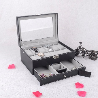Hộp đựng 12 chiếc đồng hồ và trang sức Olivin LA254 - 4