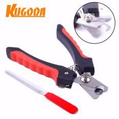 kềm tỉa móng Kugoda cho thú cưng – kgd019 màu đỏ đen