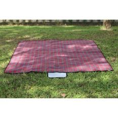 Khăn trải picnic cao cấp màu đỏ