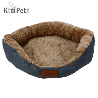 Kimpets Denim Fabric Soft Washable Pet Dog Cat Bed House Nest Pad - intl