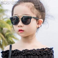 Kính bé gái, bé trai phong cách cá tính + Tặng bao da DL113