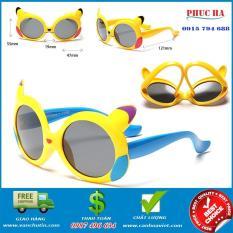 Kính cho trẻ em 3 tuổi, kính chống UV thời trang Vàng dễ thương
