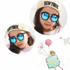 Kính mát cho bé chống tia UV phong cách Hàn Quốc 2016 Korea kids C653 (Xanh)