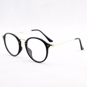 Kính mắt giả cận nữ dáng oval - 1006Apparel 2017mkc12den ( Đen )