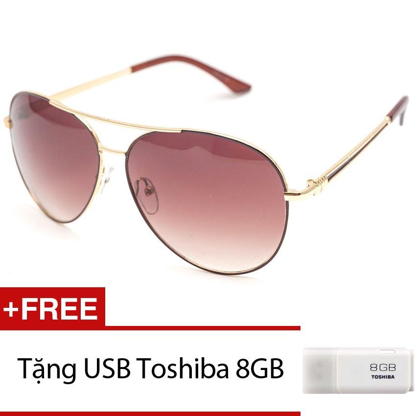 Đánh Giá Kính mát nam MKH 7011 (Trà) + Tặng 1 USB Toshiba 8GB