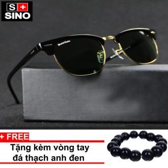 Nơi nào bán Kính mát nam Sino thời trang SN868+ Tặng kèm vòng tay thạch anh đen