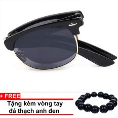 Bảng Báo Giá Kính mát nam thời trang cao cấp Sino gập gọn+ Tặng kèm vòng tay thạch anh đen