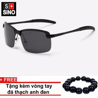 Trang bán Kính mát nam thời trang SINO SN687+ Tặng kèm vòng tay thạch anh đen
