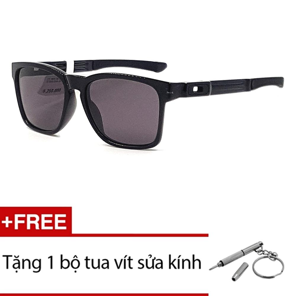 Đánh Giá Kính mát Oakley CATALYST OO9272 08 (Đen) + Tặng 1 bộ tua vít sửa kính