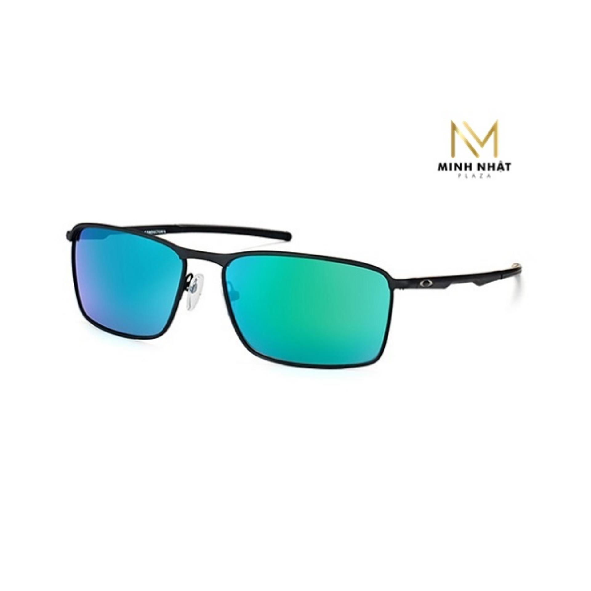 Kính Mắt Oakley Conductor 6 Sunglasses Jade Iridium Men OO4106/08