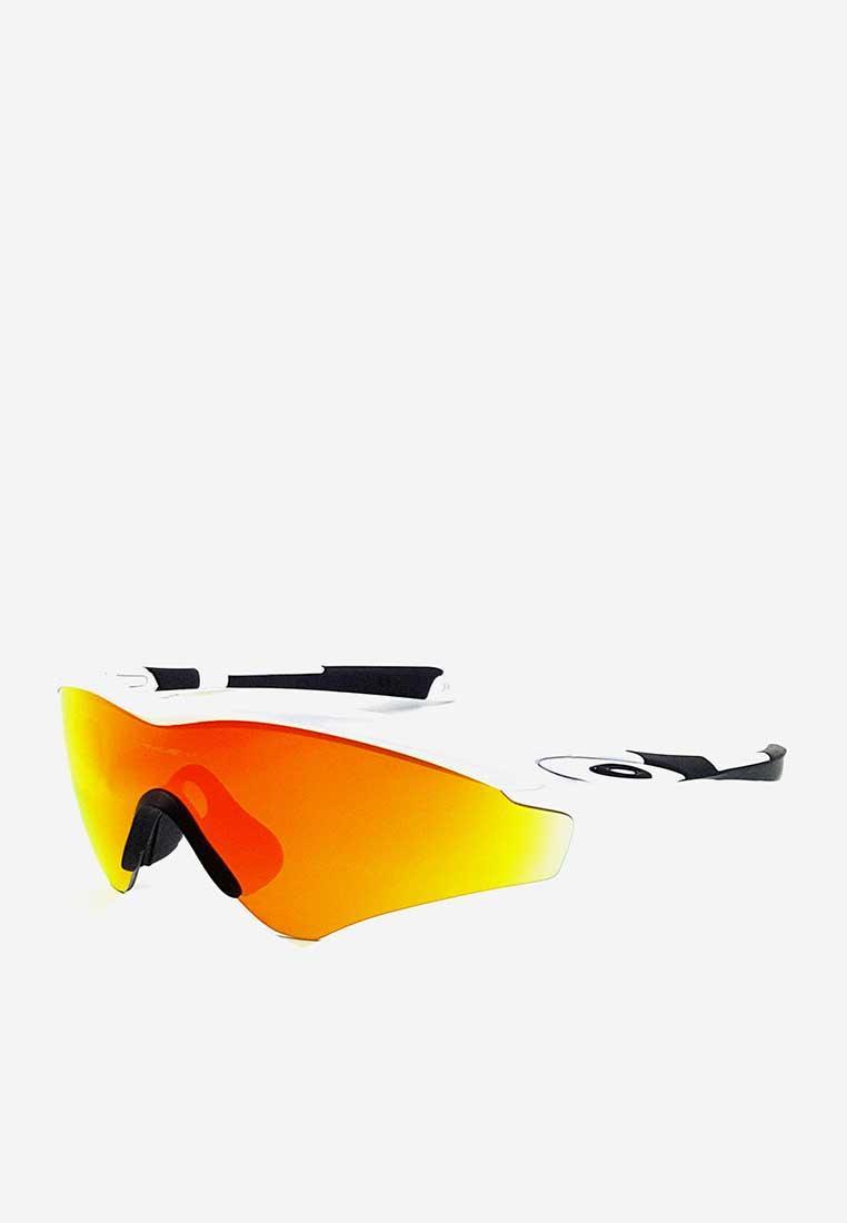 Kính mát Oakley gọng trắng tròng cam OO9345 04