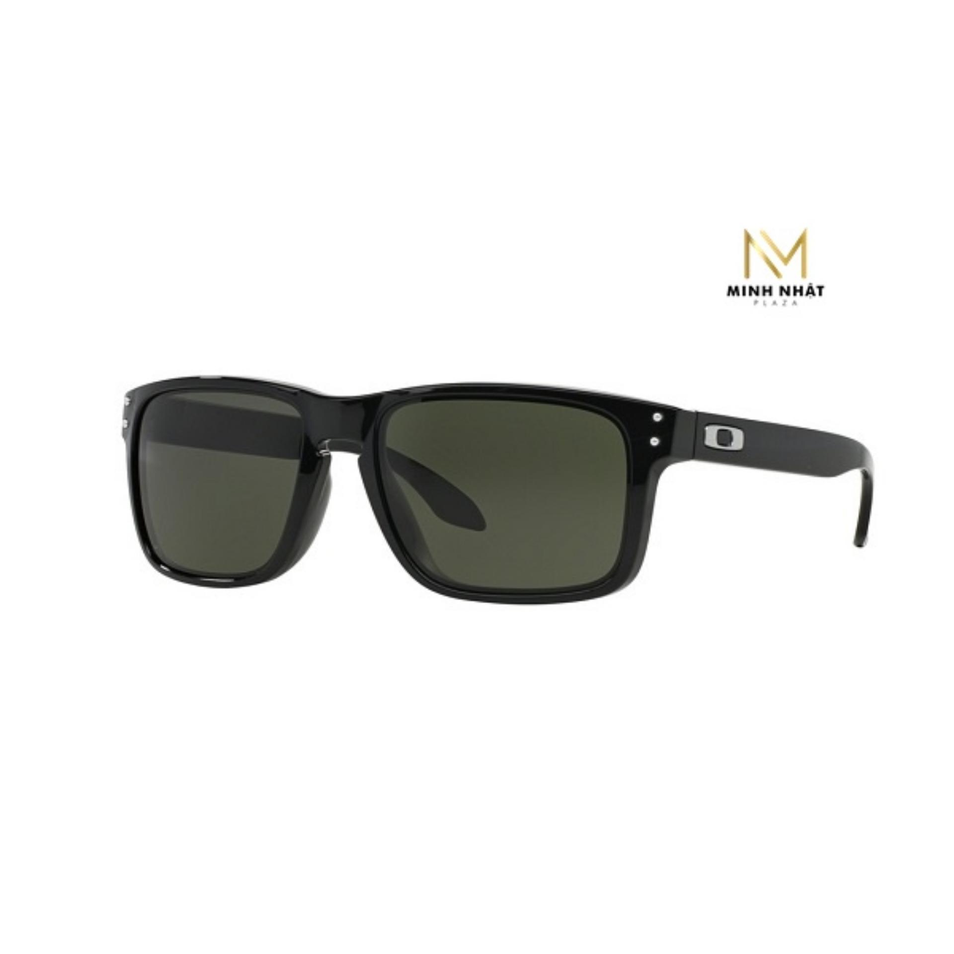 Kính Mắt Oakley Holbrook Dark Grey Polarized Black Men OO9244/03