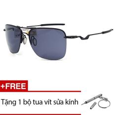 Kính mát Oakley TAILHOOK OO4087 01 (Đen) + Tặng 1 bộ tua vít sửa kính