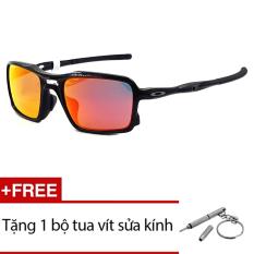 Giá Kính mát Oakley TRIGGER OO9314 03 (Tráng thuỷ Đỏ Cam) + Tặng 1 bộ tua vít sửa kính  Sunny (Tp.HCM)