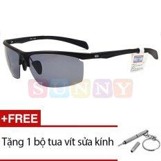 Kính mát SN-NBA ALN909 P2 + Tặng 1 bộ tua vít sửa kính