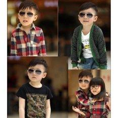 Kính mát thời trang chống tia UV cho bé (Đen) MLS115