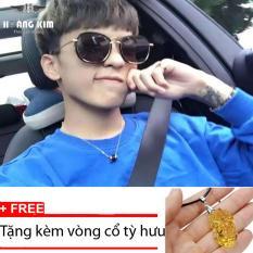 Bảng Giá Kính mát Unisex Sino S03-1044+Tặng kèm vòng cổ tỳ hưu vàng  Hoàng Kim Digital