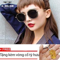 Địa Chỉ Bán Kính mát Unisex Sino S06-1044+Tặng kèm vòng cổ tỳ hưu vàng  Hoàng Kim Digital