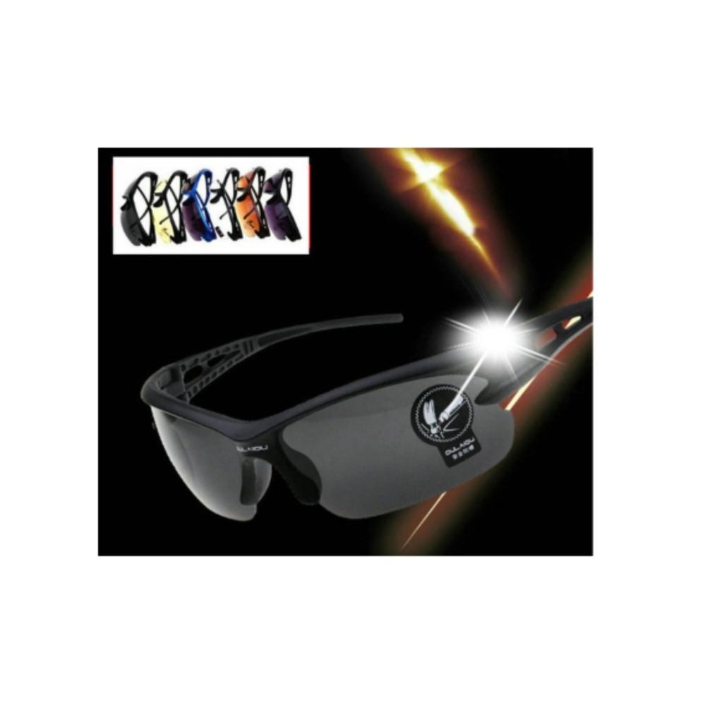 Kính phân cực nhìn xuyên đêm kiểu dáng thể thao K24 (Đen)