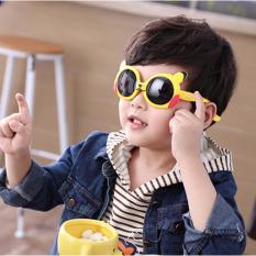 Kính phân cực Pikachu siêu dẻo, siêu bền bảo vệ mắt cho bé yêu Love Kids F175 (Vàng)