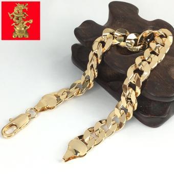 LẮC TAY NAM NỮ MẠ VÀNG 18K CAO CẤP - LTXX52L75
