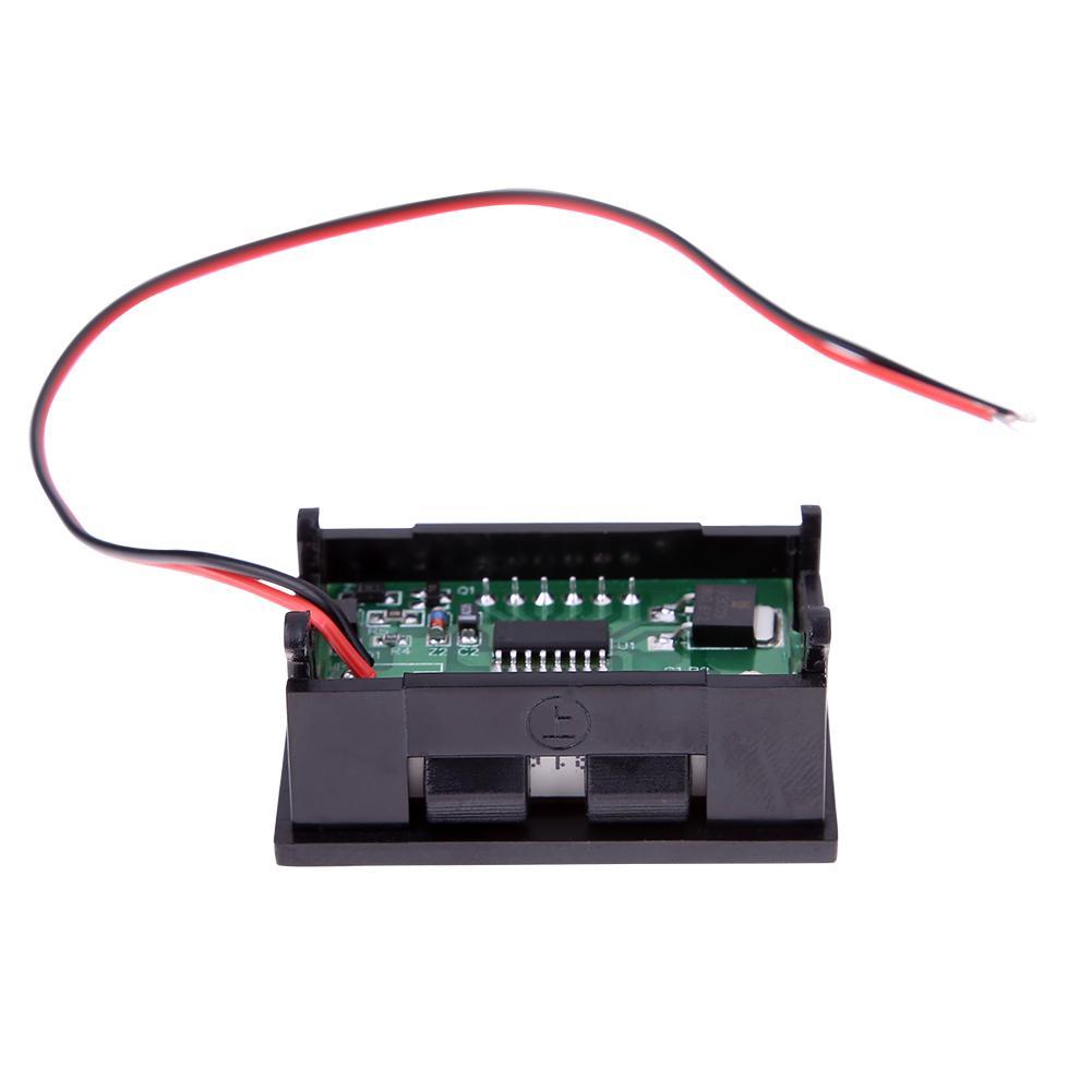 ... LED Voltmeter Digital Volt Meter Gauge Automobile Motorcycle Red(Intl) ...