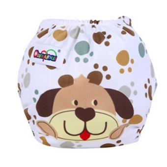 Lemon Baby Infant Reusable Washable Cloth Diaper Nappy DogCoveradjustable Diapers - intl