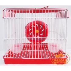 Lồng Hamster BABALI Vuông Size 22cm x 19cm x 16cm