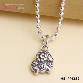 Báo Giá Mặt đeo dây chuyền, lắc tay, lắc chân cho bé 12 con giáp bạc Thái S925 Bạc Xinh – Quà tặng tuổi Mùi PP1382