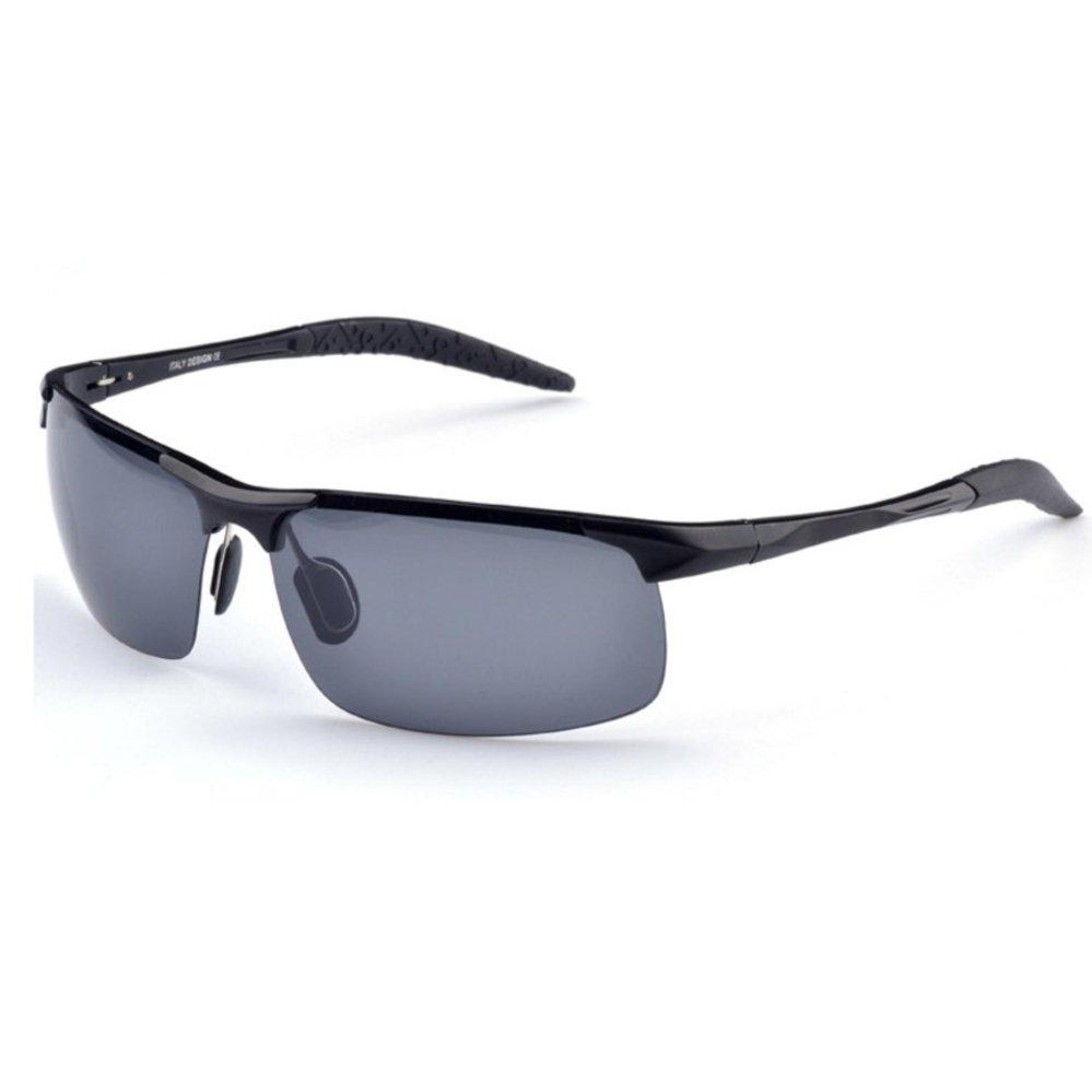 Mắt kính râm nam thời trang bo mắt K8177