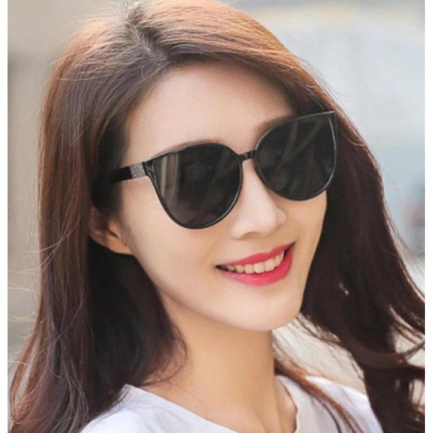 [HCM]Mắt Kính Thời Trang Nữ tuyệt đẹp (đen)