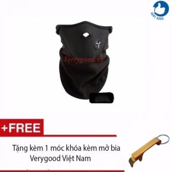 Mặt nạ đi phượt chuyên nghiệp + Tặng kèm 1 móc khóa kèm mở biaVerygood Việt Nam