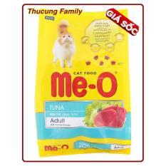 Me-O Thức ăn hạt cho Mèo trưởng thành vị Cá ngừ – 7kg.