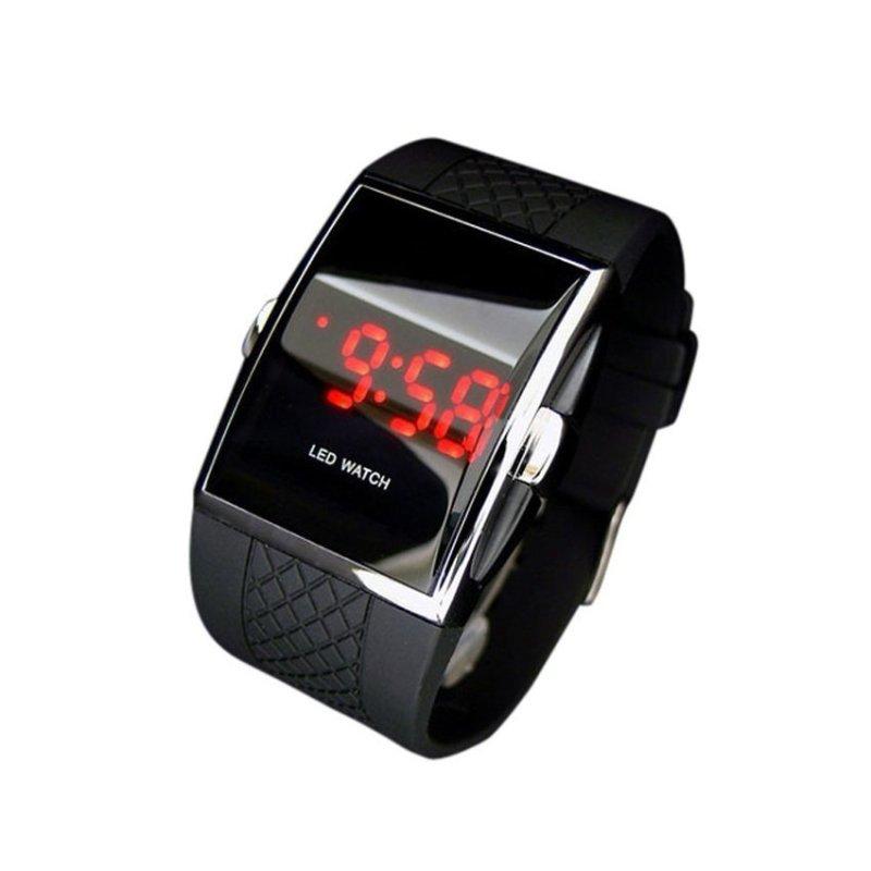 Nơi bán MEGA LED Wrist Watch Black(Not Specified)(OVERSEAS) - intl