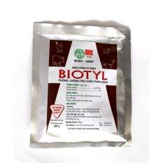 Men sống vi sinh phòng trị tiêu chảy, phân sống BIOTYL (100 gram)
