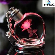 Móc khóa quà tặng valentine tình yêu tinh thể mika HQ 4TI26