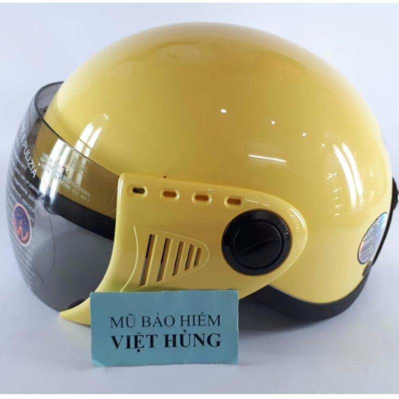 Mũ bảo hiểm GRS A08 (Vàng bóng) (Mũ dành cho người đầu nhỏ hoặc trẻ em trung học phổ thông)
