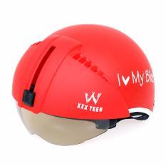 Mũ bảo hiểm I Love My Bike kính âm (nhiều màu)