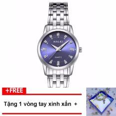 Trang bán [MUA 1 ĐƯỢC 2] Đồng hồ nữ HALEI dây thép vạch giờ thời trang G52