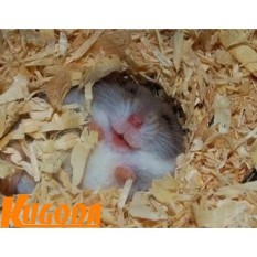 Mùn cưa nén 1kg Kugoda lót chuồng cho hamster và thú nhỏ – kgd0223