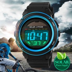 New Energy Solar Watch Men's Digital Sports LED Watches Men Solar Power Digital Electronic Watches Relojes Montre Homme1096