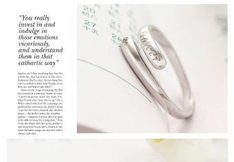 Nhẫn bạc khắc chữ