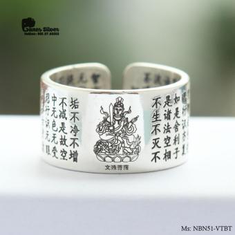 Nhẫn Bạc Nam Văn Thù Bồ Tát Chất Liệu Bạc Thái Cao Cấp - Thương Hiệu Ganes Silver - 8667302 , OM099OTAA8G471VNAMZ-16383012 , 224_OM099OTAA8G471VNAMZ-16383012 , 680000 , Nhan-Bac-Nam-Van-Thu-Bo-Tat-Chat-Lieu-Bac-Thai-Cao-Cap-Thuong-Hieu-Ganes-Silver-224_OM099OTAA8G471VNAMZ-16383012 , lazada.vn , Nhẫn Bạc Nam Văn Thù Bồ Tát Chất Liệu