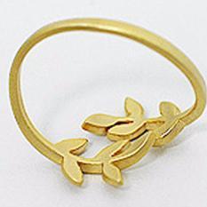 Nhẫn chiếc lá, phong cách Hàn Quốc