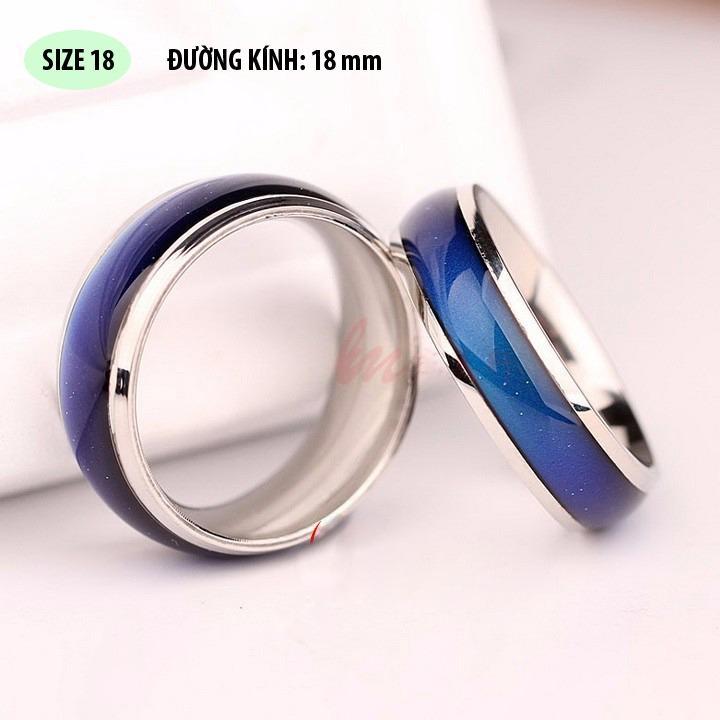 Nhẫn đổi màu mood ring X45